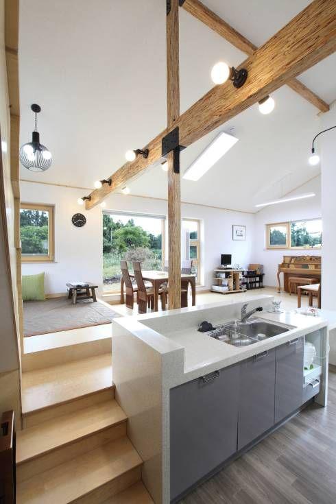 a lively korean home full of smart ideas kitchen remodel split level kitchen cabin design on kitchen interior korean id=68781