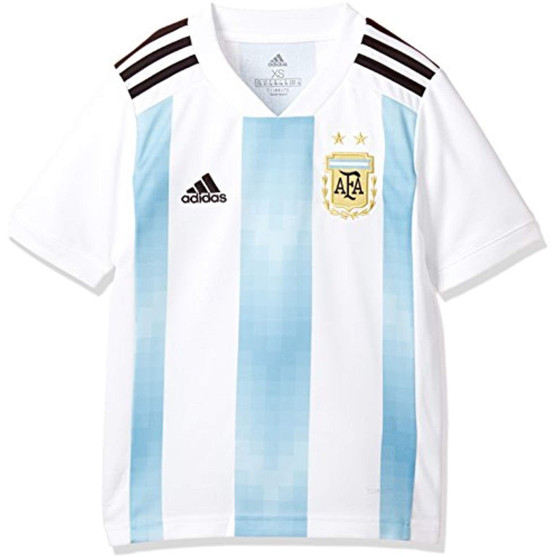 adidas 2018-2019 Argentina Home Football Soccer T-Shirt Jersey ...