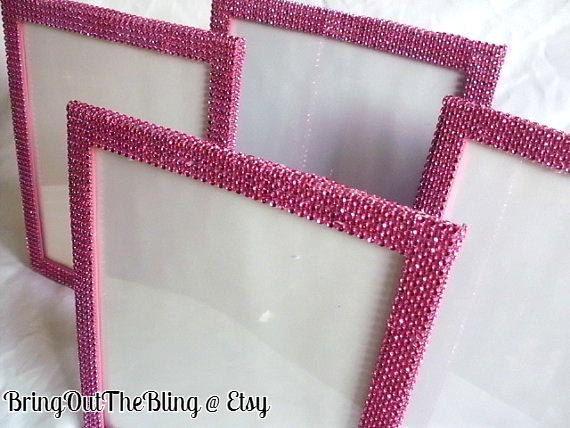 Funky Hot Pink Picture Frames 8x10 Motif - Frames Ideas - ellisras.info