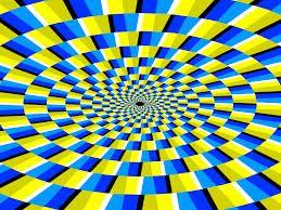 Google 画像検索結果: http://4.bp.blogspot.com/-2yiBnKkyOmY/TdIipURTiwI/AAAAAAAADZQ/bgV92q_Inc4/s640/optical-illusion5.gif