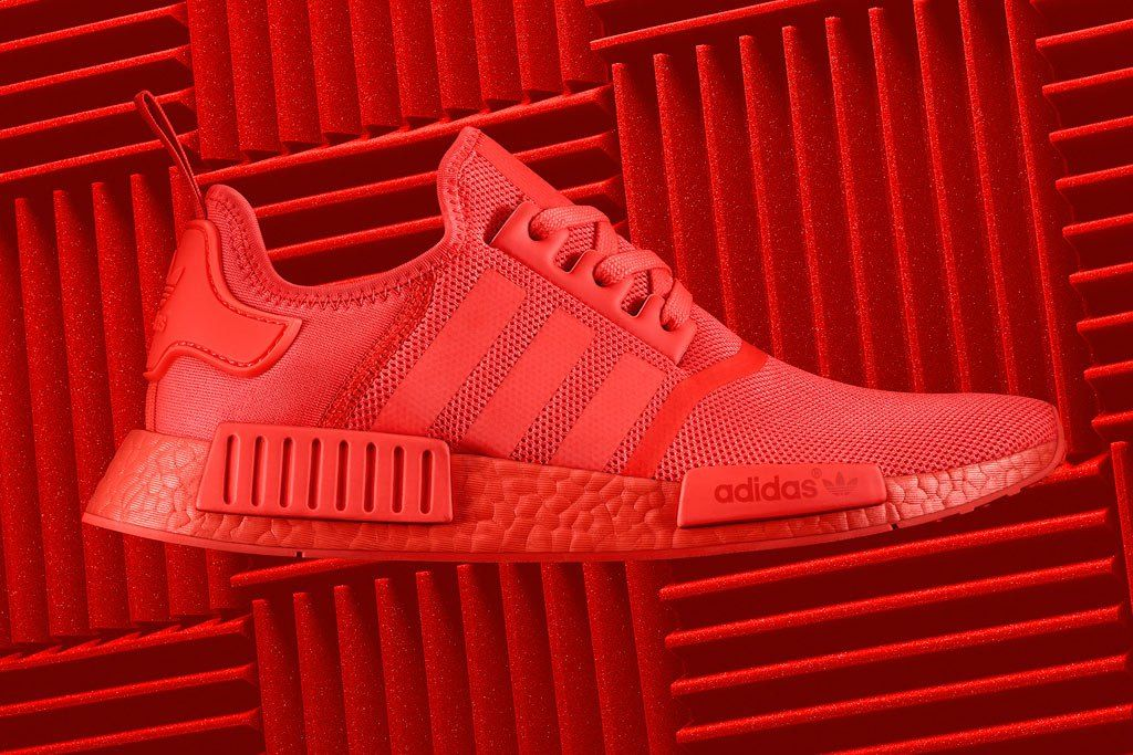 Adidas Nmd R1 Triple Red Boost Solar Red Reflective S31507