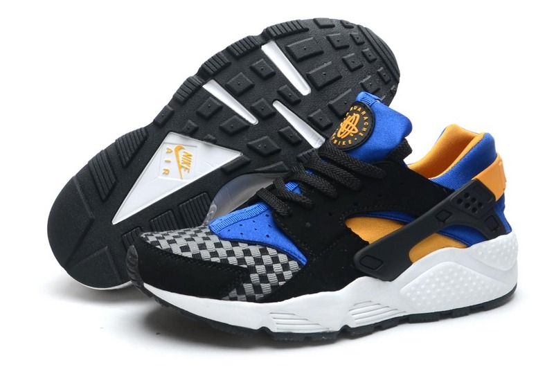 best website e4f4d 584f8 Nike Huarache Woven Black Blue Force Atomic Mango