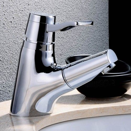 Duet one hole pullout spray sink faucet, combining beauty with ...
