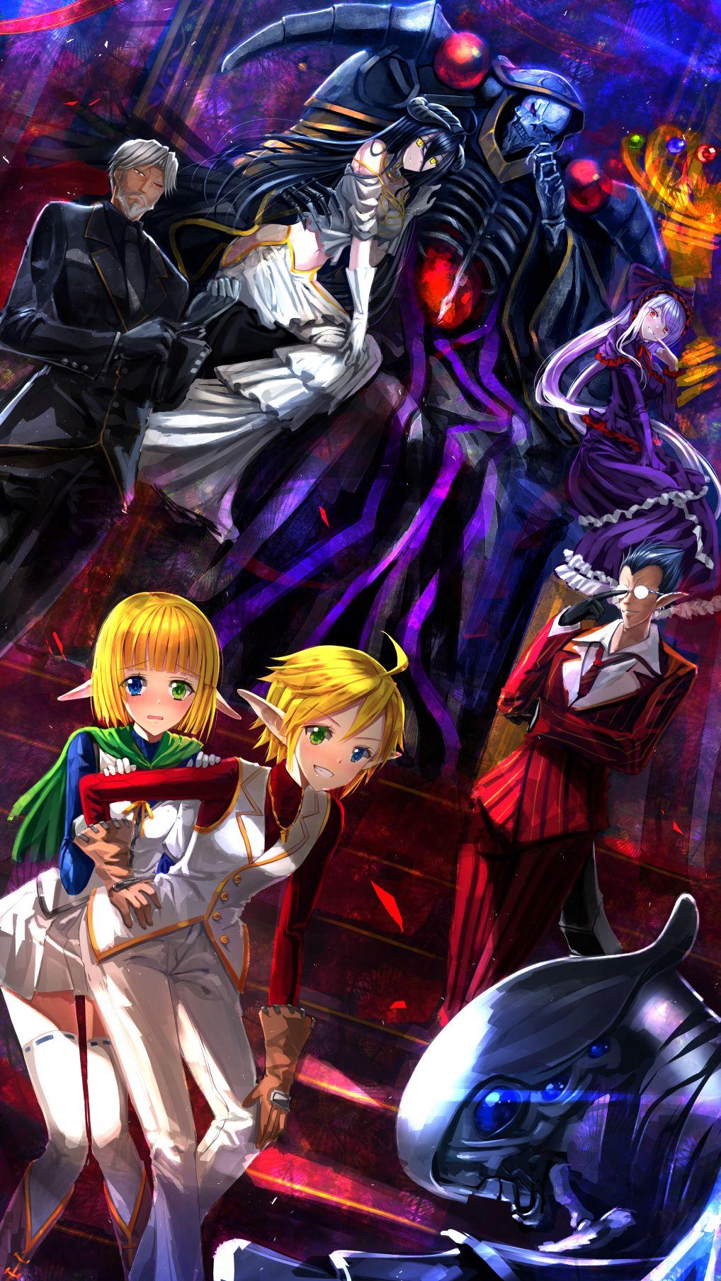 Lord Ainz Anime Wallpaper Anime Overlord Anime Season 2