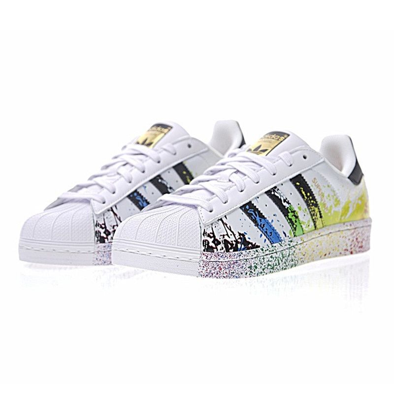 Oberlo Original New Arrival Authentic Adidas Clover Superstar