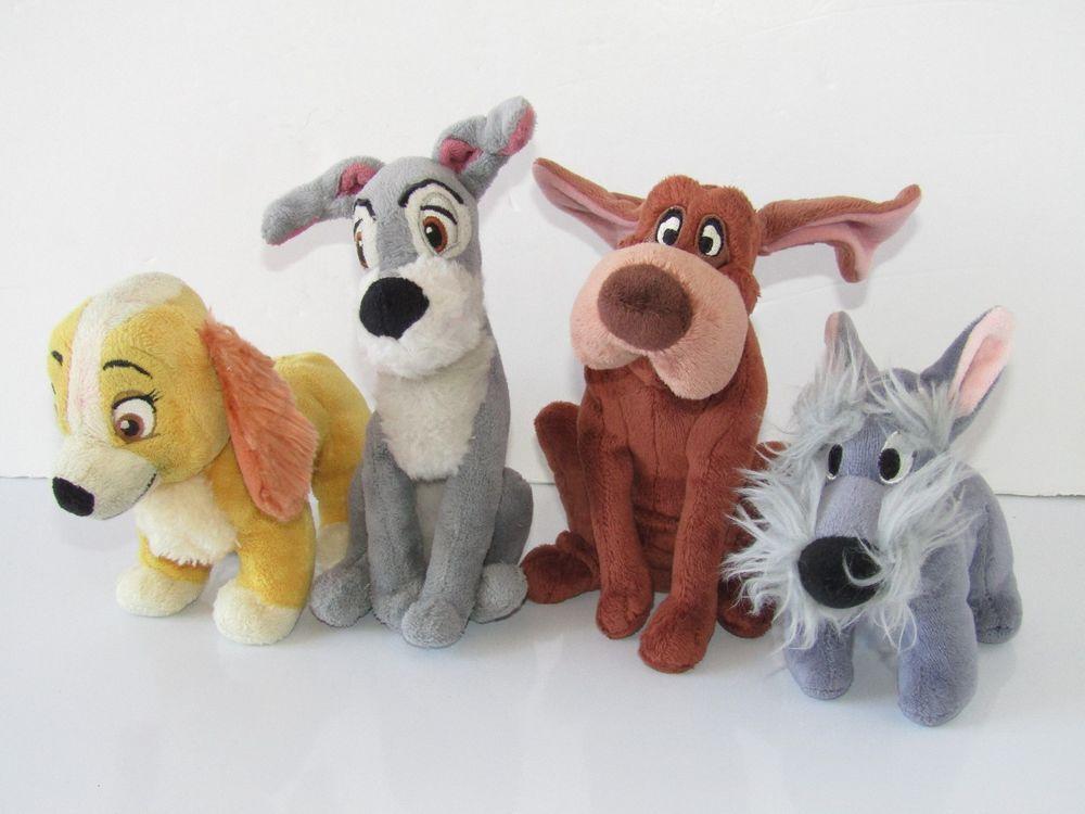 Lady And The Tramp Disney Plush Soft Toy Set The Tramp Ebay Lady And The Tramp Soft Toy Toys