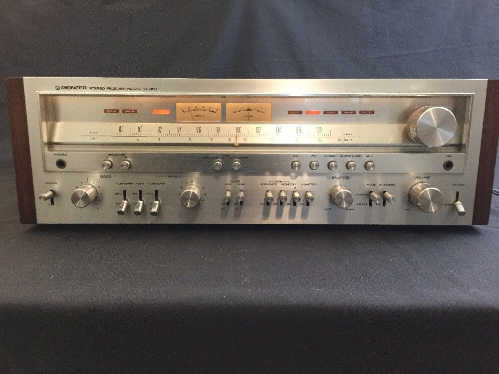 Details about Vintage Pioneer SX-950 Stereo Receiver for