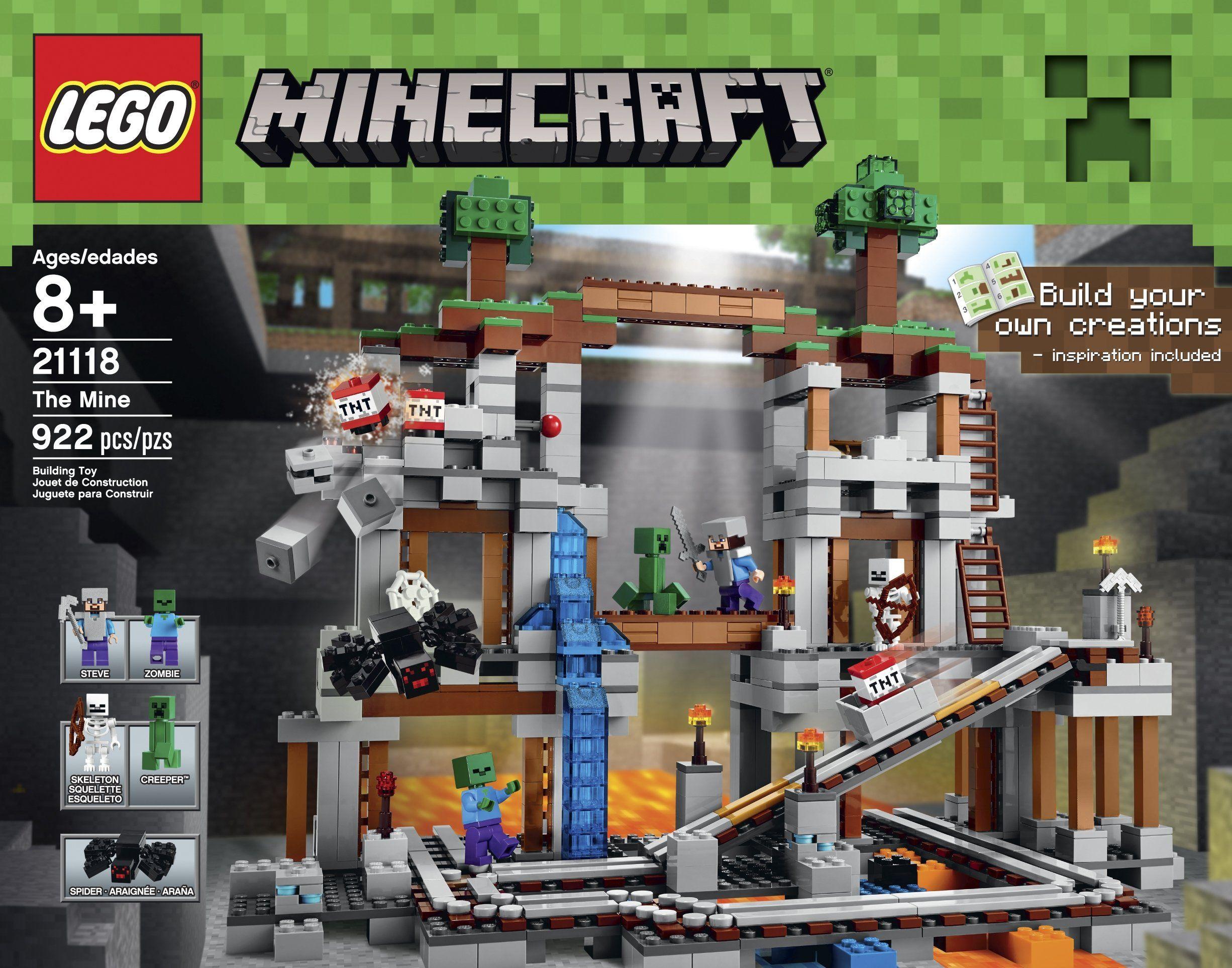 The Cave LEGO Minecraft Set - Minecraft spiele lego