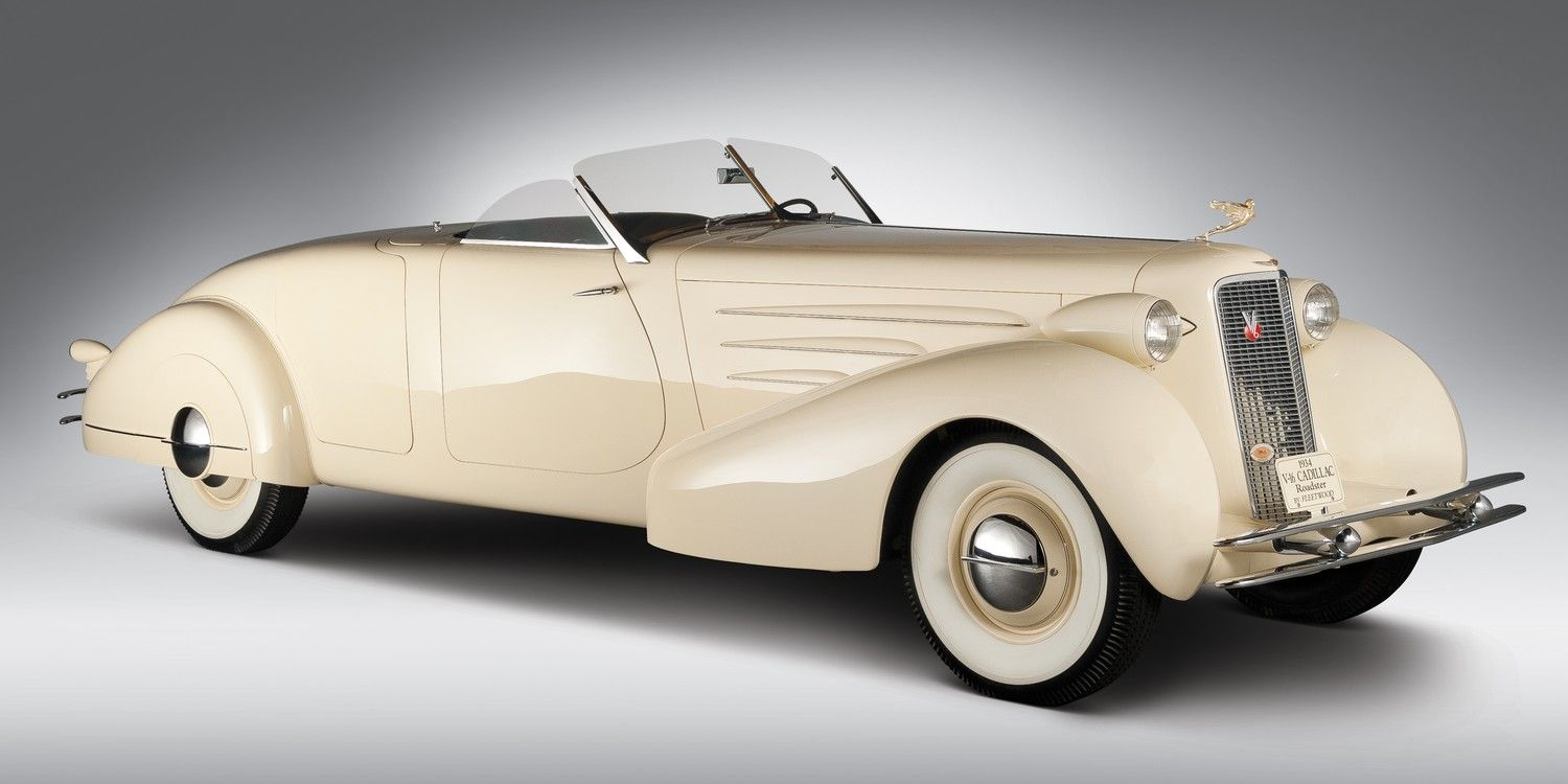 '34 Cadillac 16 roadster