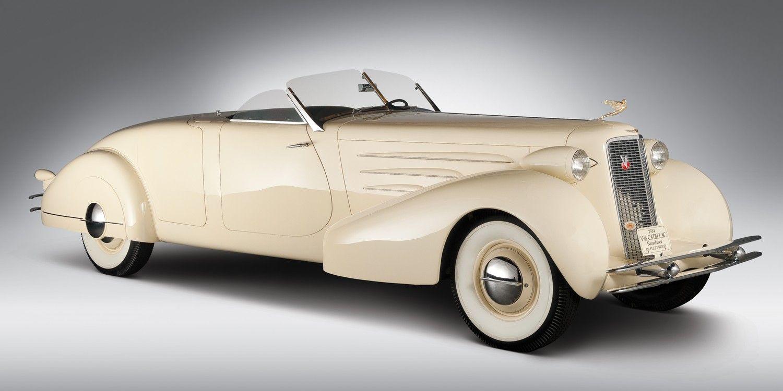 '34 Cadillac 16 roadster