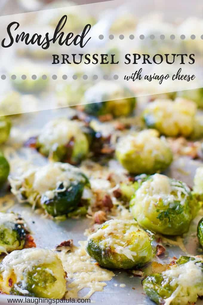 Smashed Brussels Sprouts #smashedbrusselsprouts