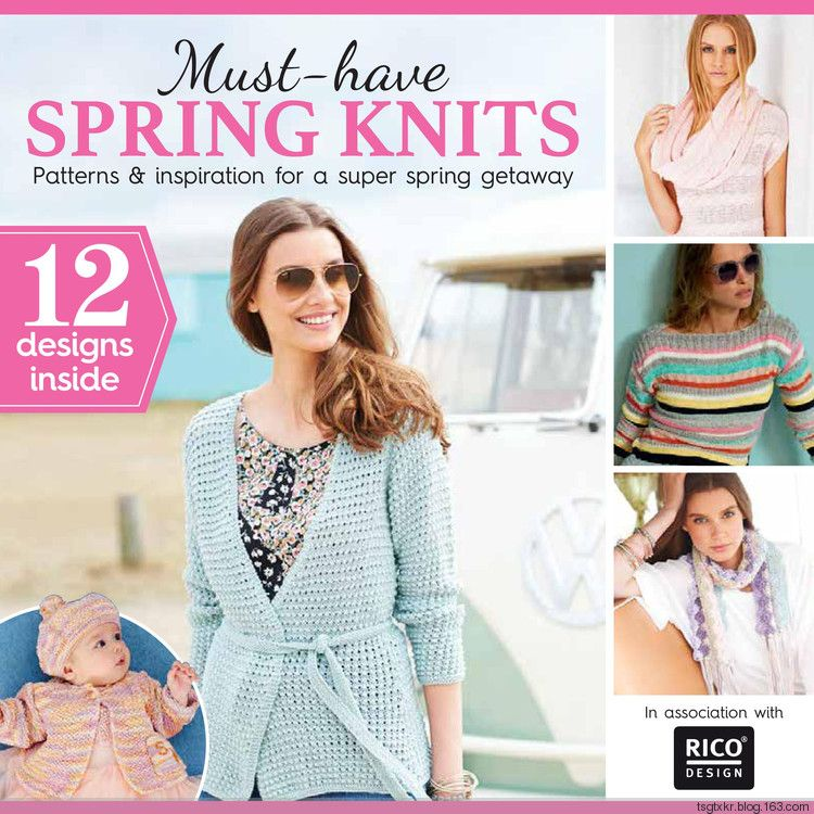 Must Have Spring Knits Spring 2017 | knit8 - books&magazines ...