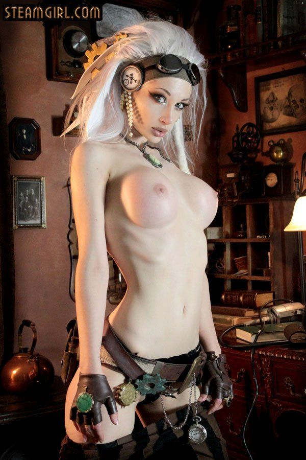 sex girls Sexy steampunk