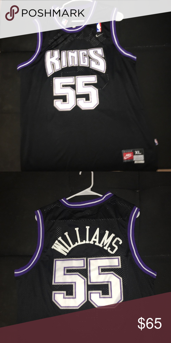 check out e9924 9c46c Sacramento Kings Jason Williams Throwback Jersey Sacramento ...