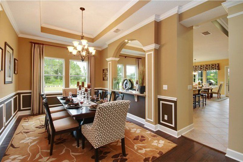 David Weekley Willowcove Dining Roomgreat Colors And #decor Fair Dining Room Furniture Jacksonville Fl Design Inspiration
