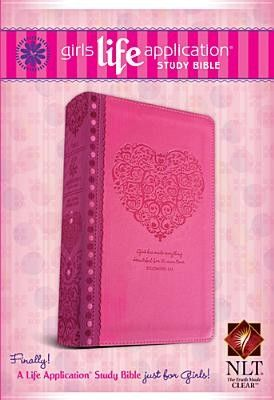 The pink nlt girls life application study bible was created the pink nlt girls life application study bible was created specifically for girls 11 and up to help answer questions preteen girls may have about god and fandeluxe Gallery