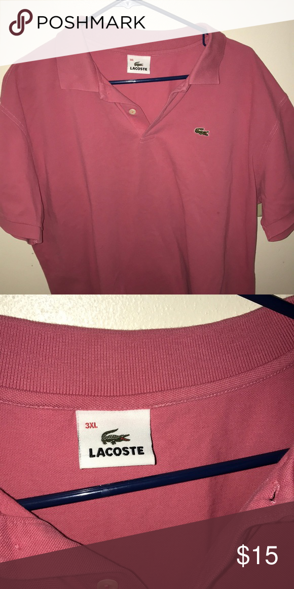 huge discount 4c127 b429b Lacoste polo shirt Great condition says 3xl but it's like an ...