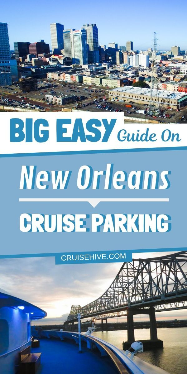 Everything to know about parking in New Orleans for a cruise ship vacation, Travel tips for the port and more. #cruise #cruisetravel #cruises #neworleans #cruiseship #cruisevacation