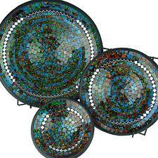 Mosaic bowl ceramic bowl set glass bowl deco design mirror handicraft