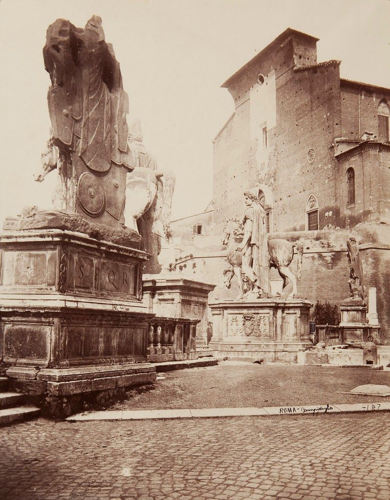 Old Photos Of Rome In The Late 19th Century Rome