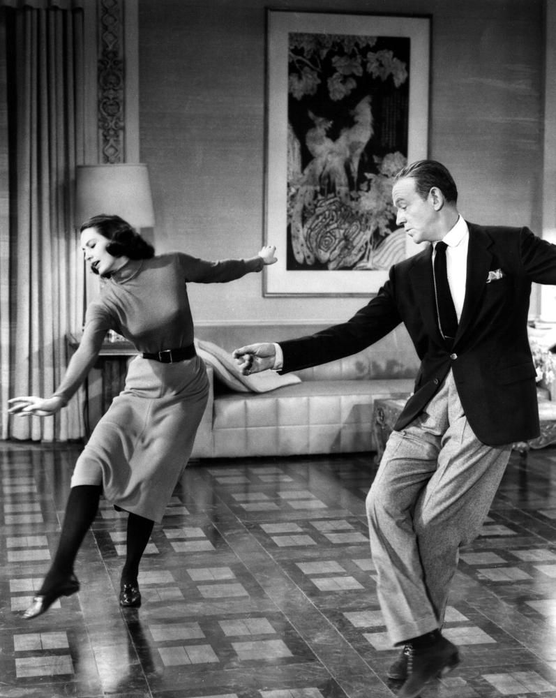 """be6b5aa5ac0 CLASSIC HOLLYWOOD GLAM — don56  Cyd Charisse and Fred Astaire in """"Silk."""