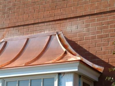 Love This Bay Window Copper Roof With Images House Exterior French Exterior Copper Roof