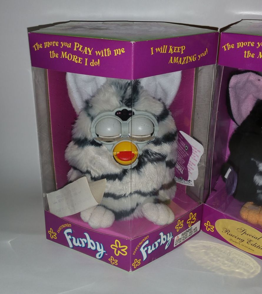 Original Vintage 1998 FURBY Lot 90s Toys Limited Edition