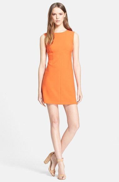 Diane Von Furstenberg Carrie Sheath Dress Available At Nordstrom In Yellow