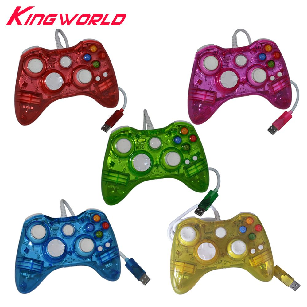Xbox Controller Wire Diagram Color Trusted Wiring Diagrams To Usb Compare Price Wired Game Handle Led Light Colour Glow Portable 360 Wireless