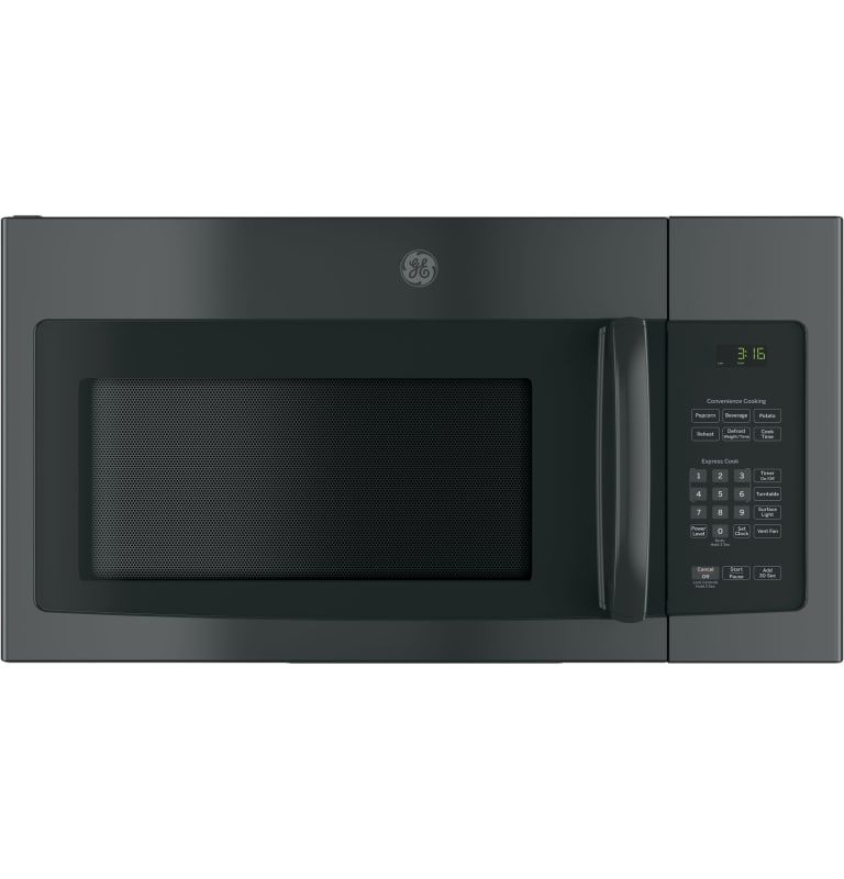 Ge Jnm3163rjss Stainless Steel 30 Inch Wide 1 6 Cu Ft 950 Watt Over The Range Microwave With Two Speed 300 Cfm Recirculating Venting System In 2020 Range Microwave Black Microwave Microwave