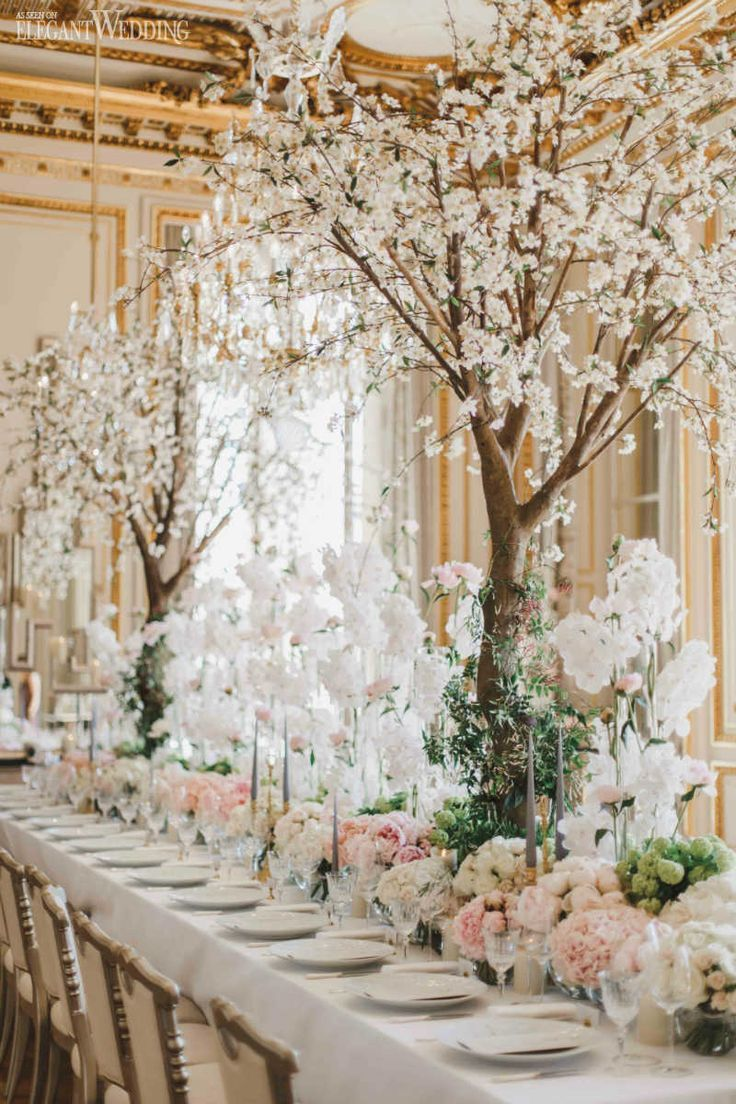 A Fairytale Garden Wedding in Paris | ElegantWedding.ca