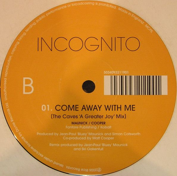 Incognito Show Me Love Vinyl At Discogs My Love Incognito Shows