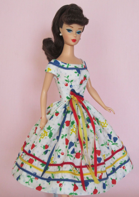 Morning Market - Vintage Barbie Doll Dress Reproduction Repro Barbie Clothes on eBay http://www.ebay.com/itm/Morning-Market-Vintage-Barbie-Doll-Dress-Reproduction-Repro-Barbie-Clothes-/311354302033?pt=LH_DefaultDomain_0&hash=item487e299e51