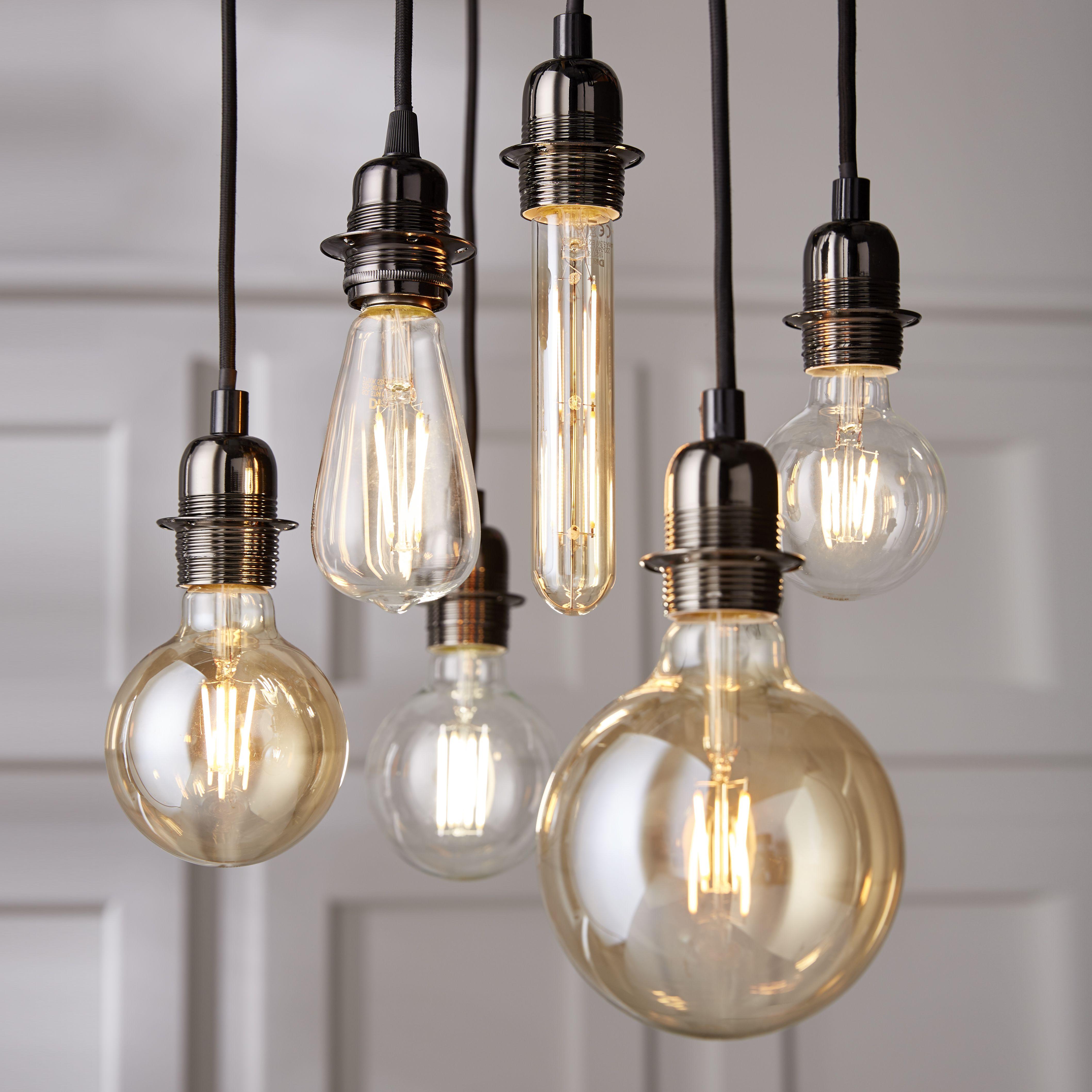 Des Ampoules Decoratives A L Aspect Vintage Pour Octroyer Un Look Industriel A Votre Interieur Castorama Insp Lumieres Ampoule Suspension Luminaire Bulbes