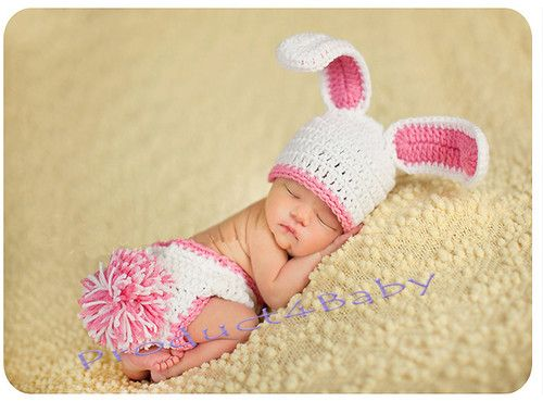 Newborn Baby Girls Boys Cute Crochet Knit Costume Prop Photo Photography Outfit