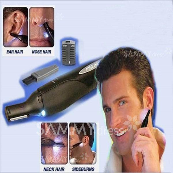 $4.95 Micro Touch LED Light Personal Trimmer for Men Hair Trimmer Men's Precision Trimmer Groomer