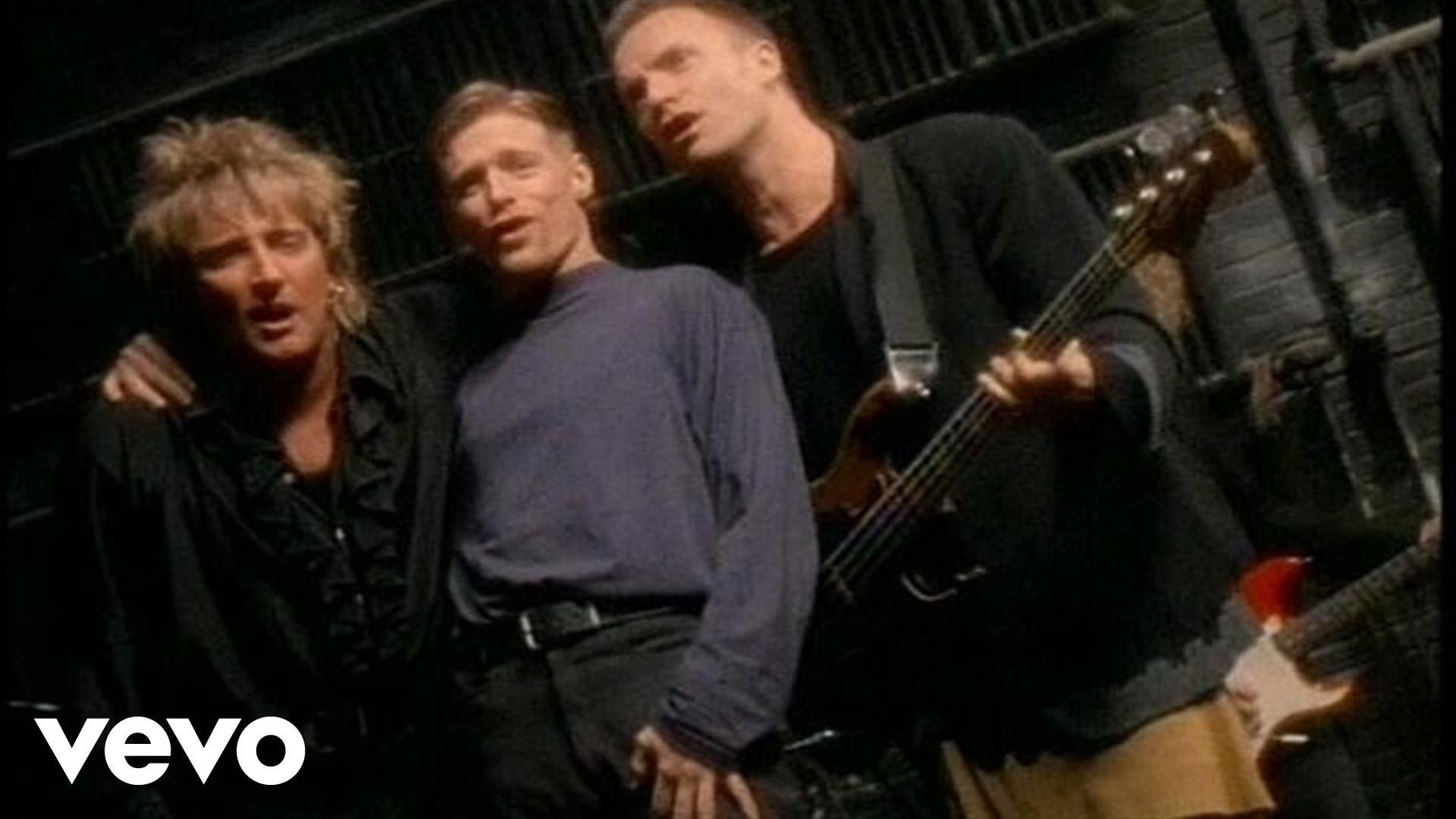Music Video By Bryan Adams Rod Stewart Sting Performing All For Love C 1994 A Amp M Records Bryan Adams Rod Stewart Music Love