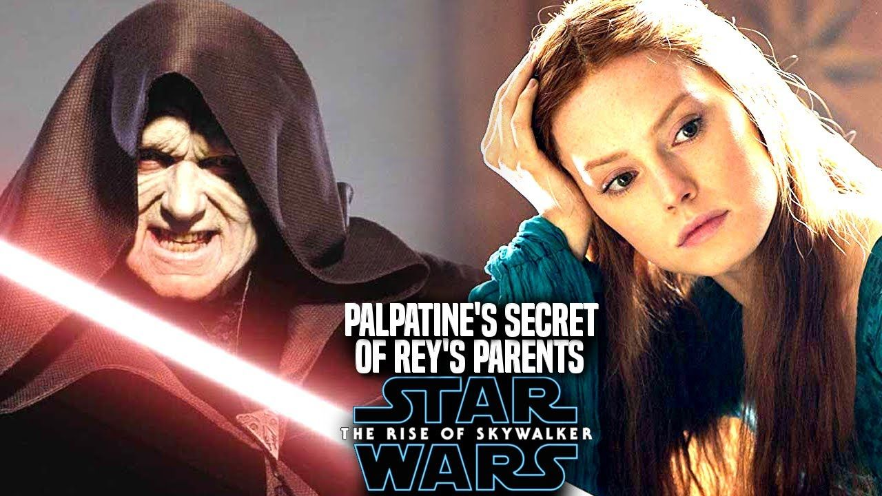 Palpatine S Secret Of Rey S Parents Revealed The Rise Of Skywalker Sta Book Genre Skywalker Star Wars Episodes