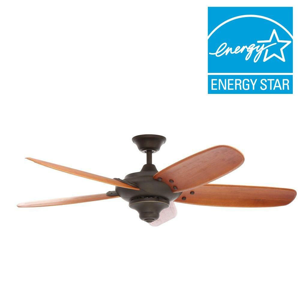 Home Decorators Collection Altura 56 In Oil Rubbed Bronze Ceiling Fan 26655 The Depot
