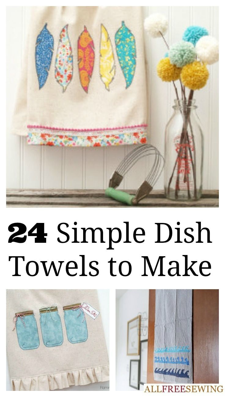 20 patterns to make dish towels towels dishes and crafty 24 patterns to make dish towels every kitchen needs dish towels and with your sewing skills and this collection of patterns to make dish towels you can solutioingenieria Choice Image