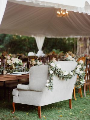 Love Seat Wedding Seating | photography by http://merari.com