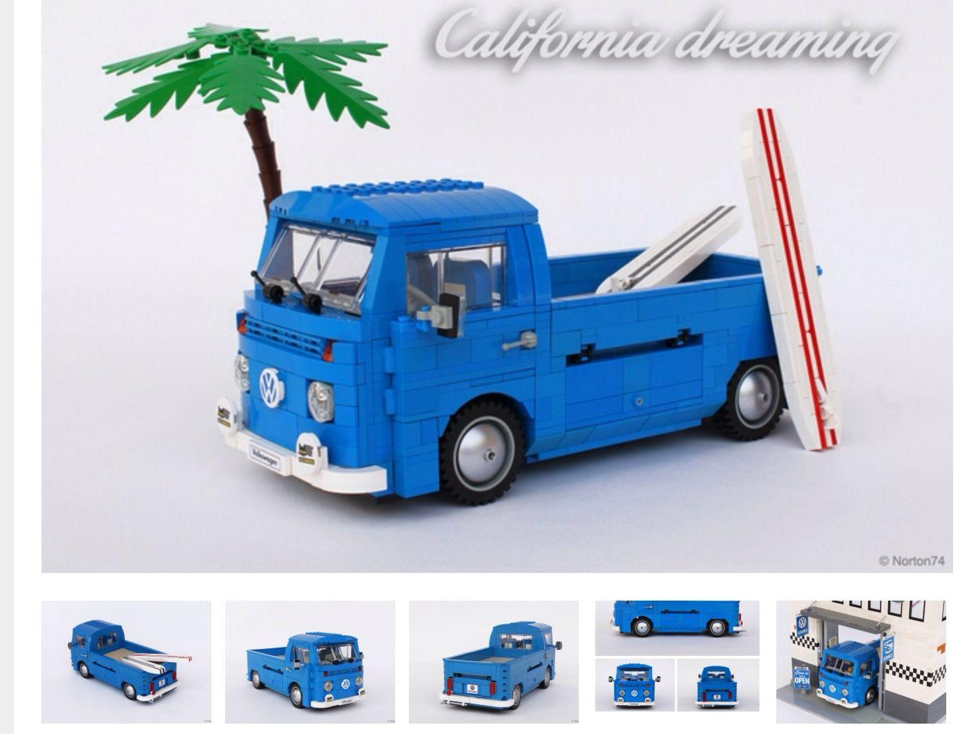 volkswagen t2 bay surfer pick vw obsession lego van. Black Bedroom Furniture Sets. Home Design Ideas