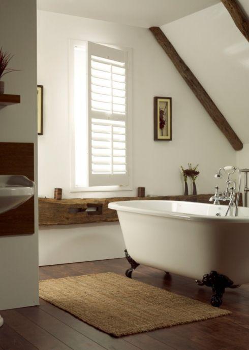 Salle de bain Salle bain mansardée Pinterest Salle de bains
