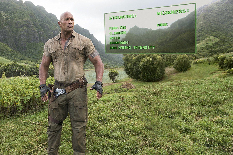 Dwayne Johnson In Jumanji Welcome To The Jungle 2