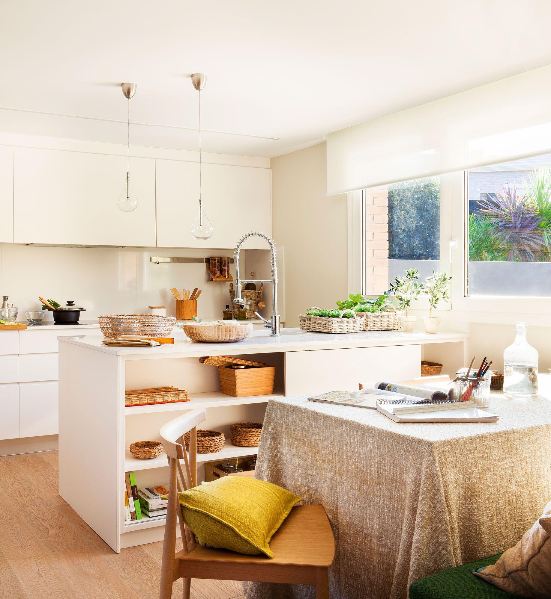 Cocinas prácticas para cada tipo de necesidad y familia   Ideas casa ...