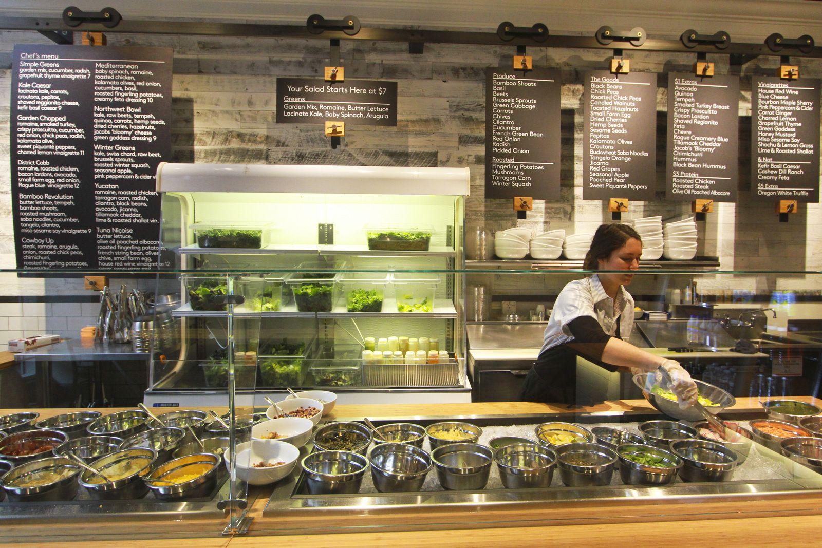 Pin by Minh Ngoc Pham on Salad Bar Salad restaurants