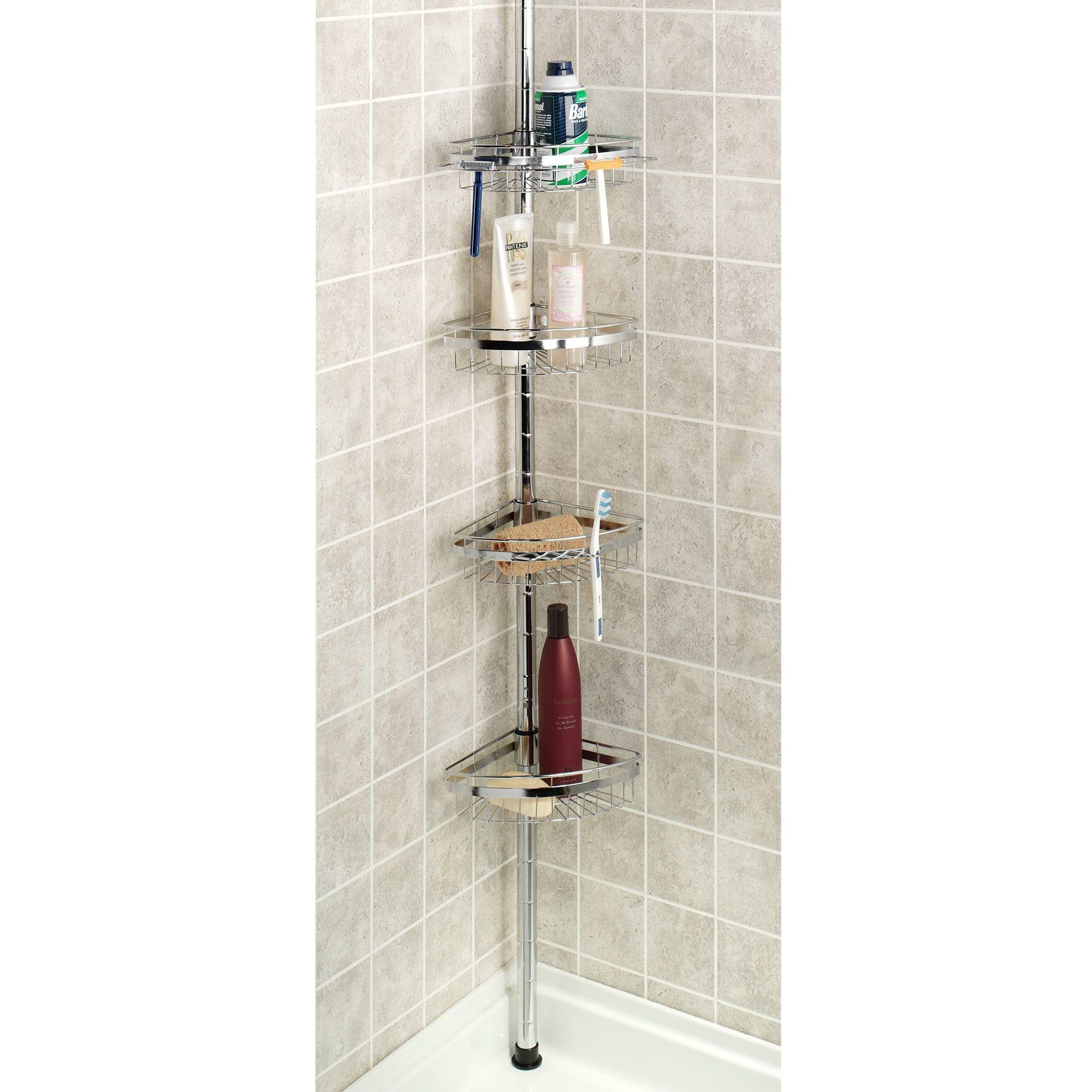 Corner Bath And Shower Caddy | Bathroom Utensils | Pinterest ...