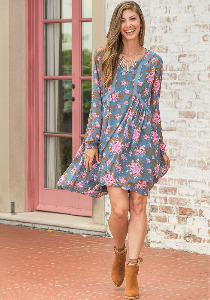 86911c9b13b To the Nines Dress - Matilda Jane Clothing