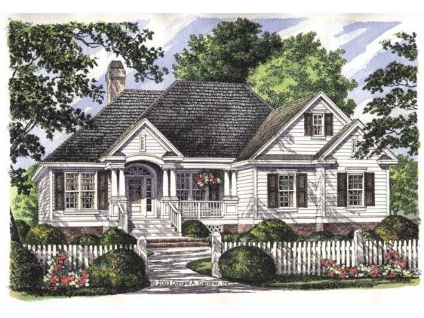 Country Style House Plan 3 Beds 2 Baths 1547 Sq Ft Plan 929 709 Country Style House Plans Craftsman House Plans Traditional House Plans