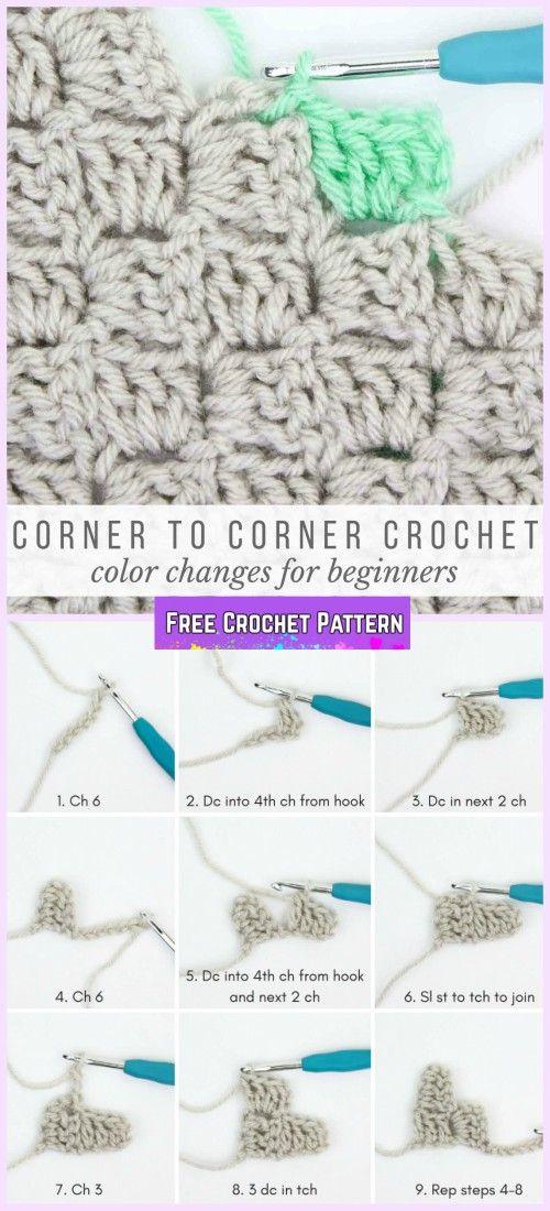C2C Crochet Southwestern Style Graphghan Blanket Free Pattern ...